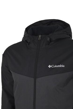 Columbia Kapüşonlu Su ve Leke Geçirmez Outdoor Erkek Yağmurluk 1820945012 SİYAH