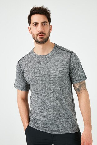 Columbia - Columbia Marka Logolu Bisiklet Yaka Erkek T Shirt AO1293-011 SİYAH