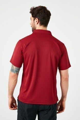 Columbia T Shirt Erkek Polo AO0126-664 KIRMIZI