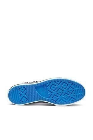 Converse Chuck Taylor Kalın Taban Spor Bayan Ayakkabı 570321C 001 Siyah-Krem-Mavi