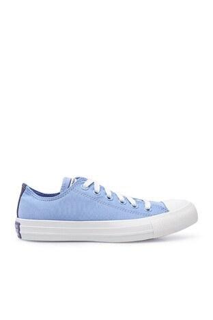 Converse - Converse Chuck Taylor Spor Bayan Ayakkabı 570306C 429 Açık Mavi-Krem