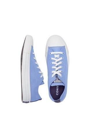 Converse Chuck Taylor Spor Bayan Ayakkabı 570306C 429 Açık Mavi-Krem