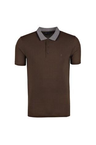 Diandor - DIANDOR T SHIRT Erkek T Shirt 0181817400 KAHVE