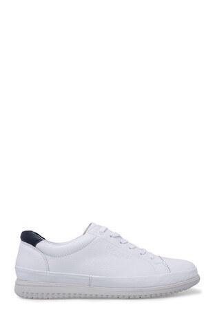 Dockers Shoes - Dockers Deri Erkek Ayakkabı 228145 BEYAZ