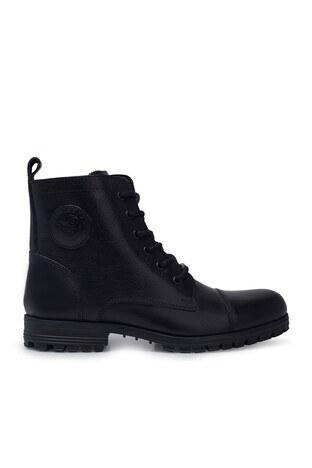Dockers Shoes - Dockers Fermuarlı Deri Erkek Bot 211352 9PR SİYAH