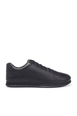 Dockers Shoes - Dockers Yumuşak Tabanlı Hakiki Deri Erkek Ayakkabı 230225 1FX SİYAH