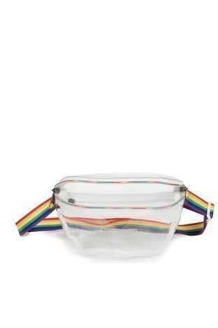 Eastpak Springer Rainbow Glass Unisex Bel Çantası EK07472Z BEYAZ