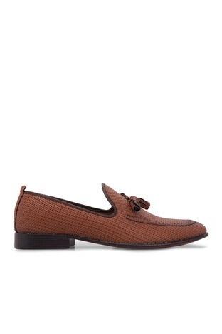 Exclusive Shoes - Exclusive Shoes Erkek Ayakkabı 1610777 TABA
