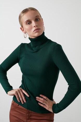 Fashion Friends Bayan Kazak 20K0288B1 YEŞİL