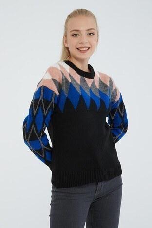 Fashion Friends - Fashion Friends Bayan Kazak 21K0301K1 SİYAH