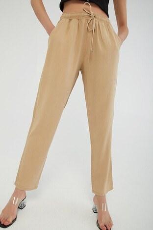 Fashion Friends - Fashion Friends Bayan Pantolon 21Y0171B1 CAMEL