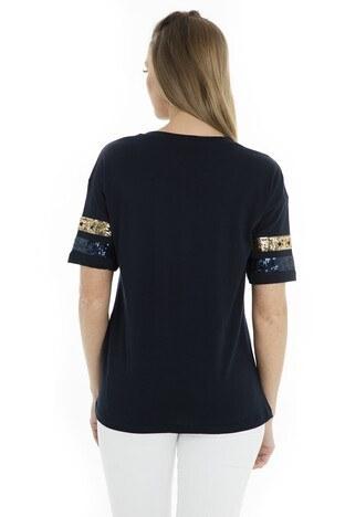 Fashion Friends Bayan T Shirt 9Y0174 LACİVERT