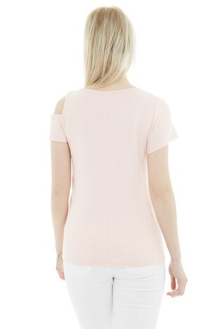 Fashion Friends Bayan T Shirt 9Y1322 PEMBE