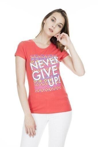 Fashion Friends Bayan T Shirt 9Y1547 KORAL