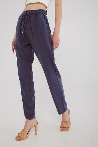 Fashion Friends Belden Bağlamalı Cepli Bayan Pantolon 21Y0171B1 SAKS