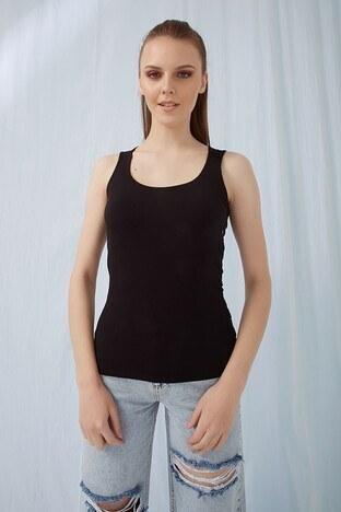 Fashion Friends Bayan Atlet 21Y0834B1 SİYAH