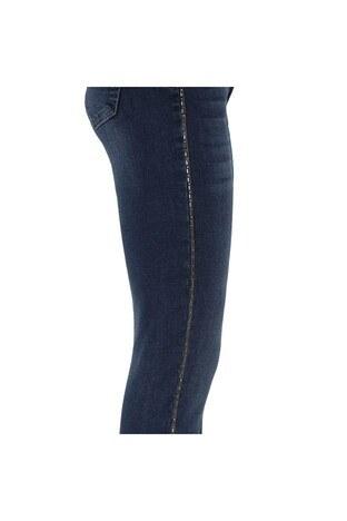 Fashion Friends Jeans Bayan Kot Pantolon 8K0506 STONE