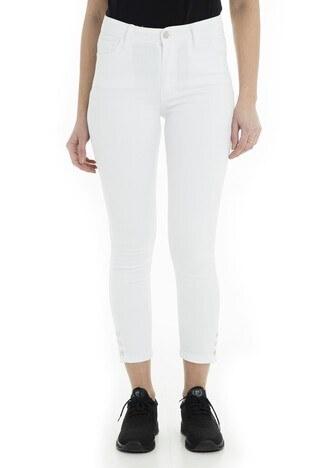 Fashion Friends Jeans Bayan Kot Pantolon 9Y1469 EKRU