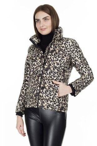 Fashion Friends - Fashion Friends Leopar Desenli Bayan Mont 9K0467 LEOPAR