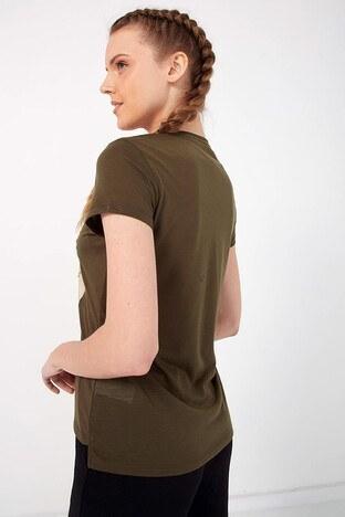 Fashion Friends Bayan T Shirt 21Y0520B1 HAKİ