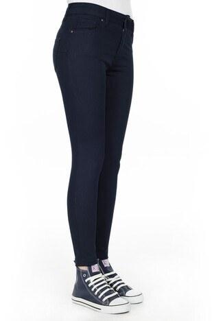 Fashion Friends Slim Fit Bayan Pantolon 9K0331 LACİVERT