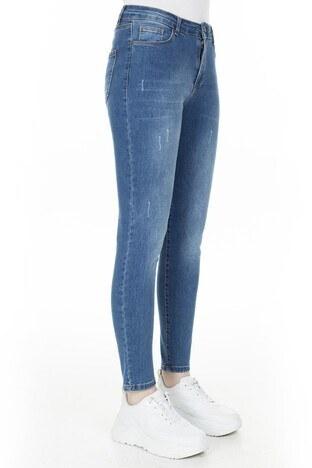 Fashion Friends Yüksek Bel Jeans Bayan Kot Pantolon 20Y0565 AÇIK MAVİ
