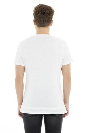 Five Pocket 5 Bisiklet Yaka Erkek T Shirt 8084 BEYAZ