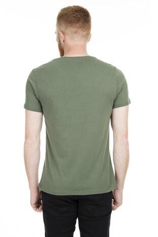 Five Pocket 5 Bisiklet Yaka Erkek T Shirt 8098 HAKİ