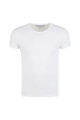 Five Pocket 5 Erkek T Shirt 1072 BEYAZ