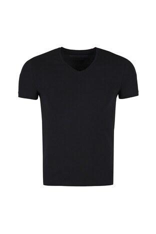 Five Pocket - Five Pocket 5 /SİYAH/S Erkek T Shirt 1074 SİYAH