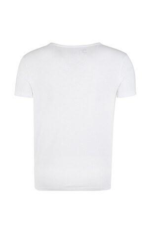 Five Pocket 5 Erkek T Shirt 1083 BEYAZ
