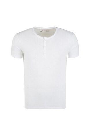 Five Pocket - Five Pocket 5 Erkek T Shirt 1102 BEYAZ