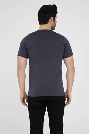Five Pocket 5 Erkek T Shirt 8032 FÜME