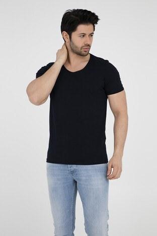 Five Pocket 5 Erkek T Shirt 8032 LACİVERT