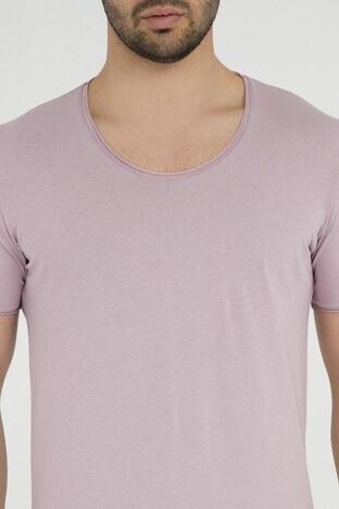 Five Pocket 5 Erkek T Shirt 8032 PUDRA-PEMBE