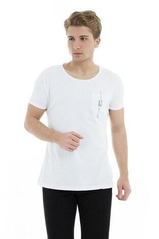 Five Pocket - Five Pocket 5 Erkek T Shirt 8049 BEYAZ