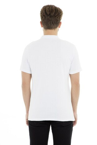 Five Pocket 5 Erkek T Shirt 8067 BEYAZ
