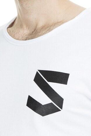 Five Pocket 5 Erkek T Shirt 8077 BEYAZ