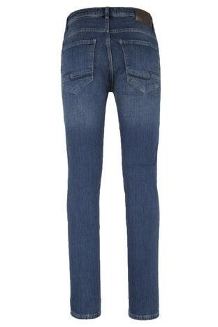 Five Pocket 5 Jeans Erkek Kot Pantolon 7124F1201PORTO MAVİ