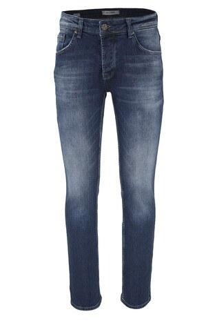 Five Pocket 5 Jeans Erkek Kot Pantolon 7124F120PORTO KOYU MAVİ