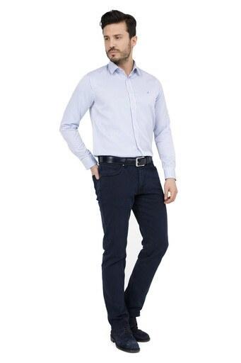 Five Pocket 5 Jeans Erkek Kot Pantolon 7128F0286KING LACİVERT