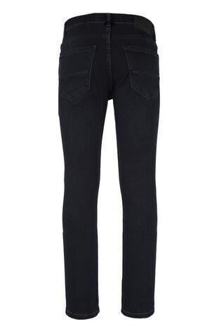 Five Pocket 5 Jeans Erkek Kot Pantolon 7144F181PORTO SİYAH-MAVİ