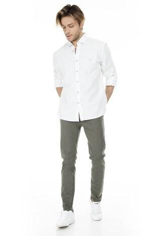 Five Pocket - Five Pocket 5 Jeans Erkek Kot Pantolon 7200H5983BARTEZ HAKİ