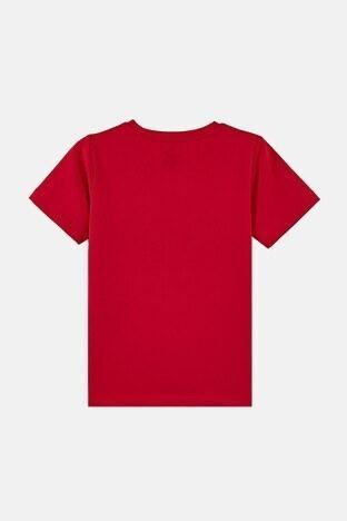 Forinns Pamuklu Baskılı Bisiklet Yaka Slim Fit Erkek Çocuk T Shirt F10EC 03228 FİESTA