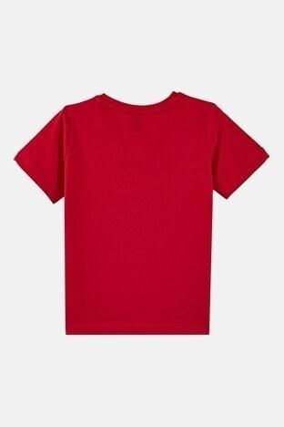 Forinns Pamuklu Baskılı Bisiklet Yaka Slim Fit Erkek Çocuk T Shirt F10EC 03232 FİESTA