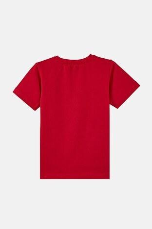 Forinns Pamuklu Baskılı Bisiklet Yaka Slim Fit Erkek Çocuk T Shirt F10EC 03237 FİESTA