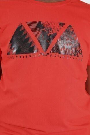 Forinns Pamuklu Baskılı Bisiklet Yaka Slim Fit Erkek Çocuk T Shirt F10EG 03228 FİESTA