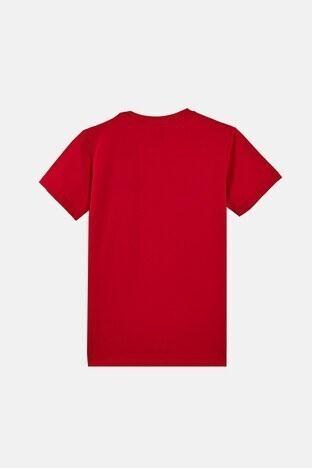 Forinns Pamuklu Baskılı Bisiklet Yaka Slim Fit Erkek Çocuk T Shirt F10EG 03231 FİESTA
