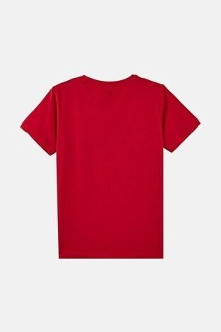 Forinns Pamuklu Baskılı Bisiklet Yaka Slim Fit Erkek Çocuk T Shirt F10EG 03232 FİESTA