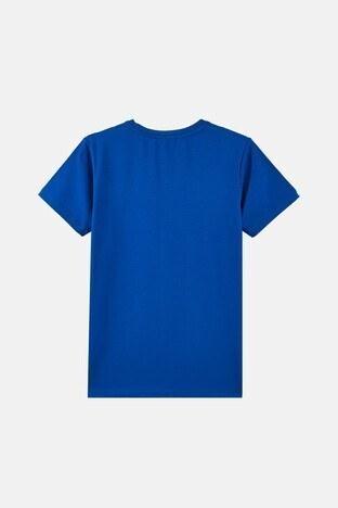 Forinns Pamuklu Baskılı Bisiklet Yaka Slim Fit Erkek Çocuk T Shirt F10EG 03234 SAKS
